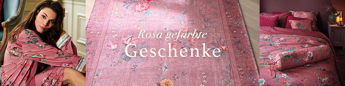 25x Rosa gefärbte Geschenke