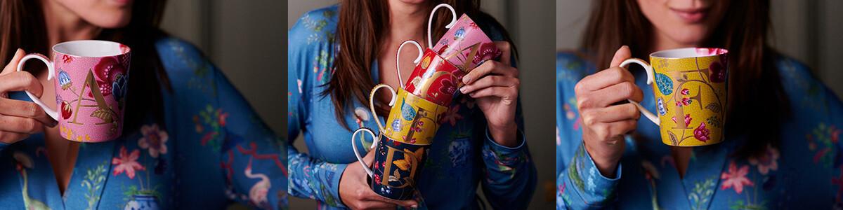 NEW: Letter Mugs
