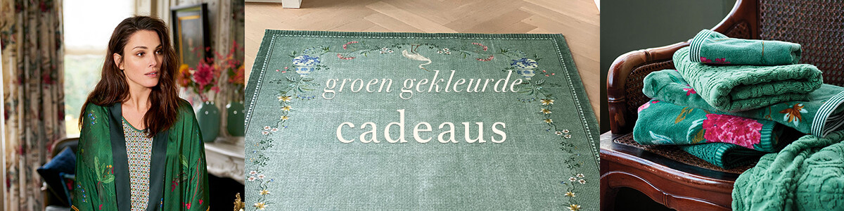 25x Groen gekleurde cadeaus