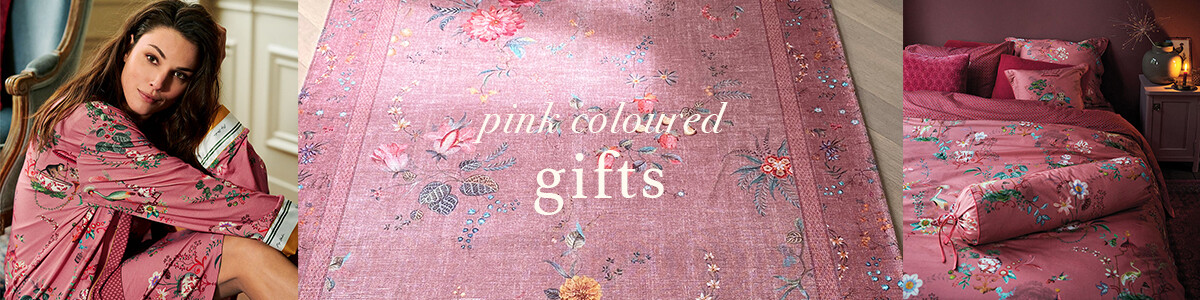 25x Pink coloured gifts