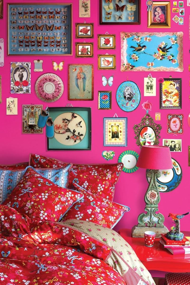 Color Relation Product Pip Studio Memories Wallpower rosa