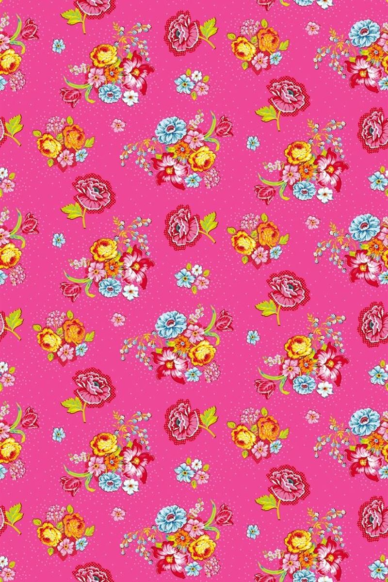 Color Relation Product Bunch of Flowers wallpaper pink - Roze
