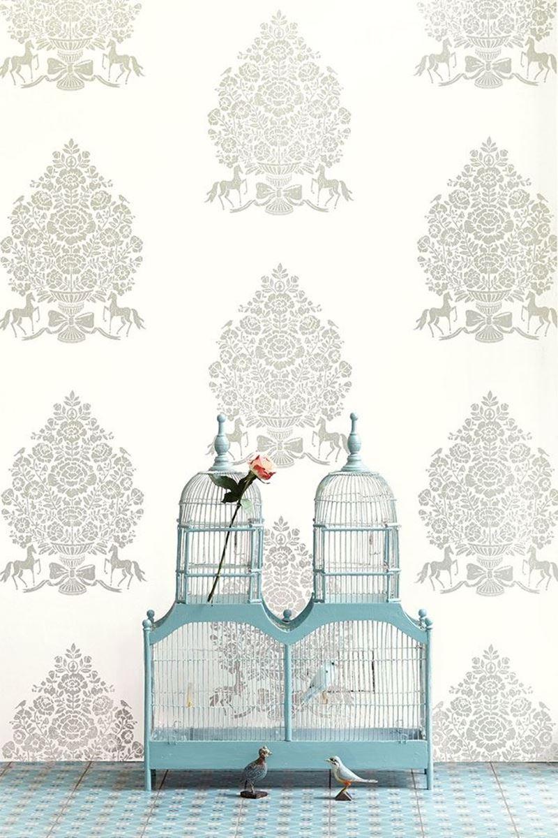 Color Relation Product Pip Studio Pip for President Wallpaper White