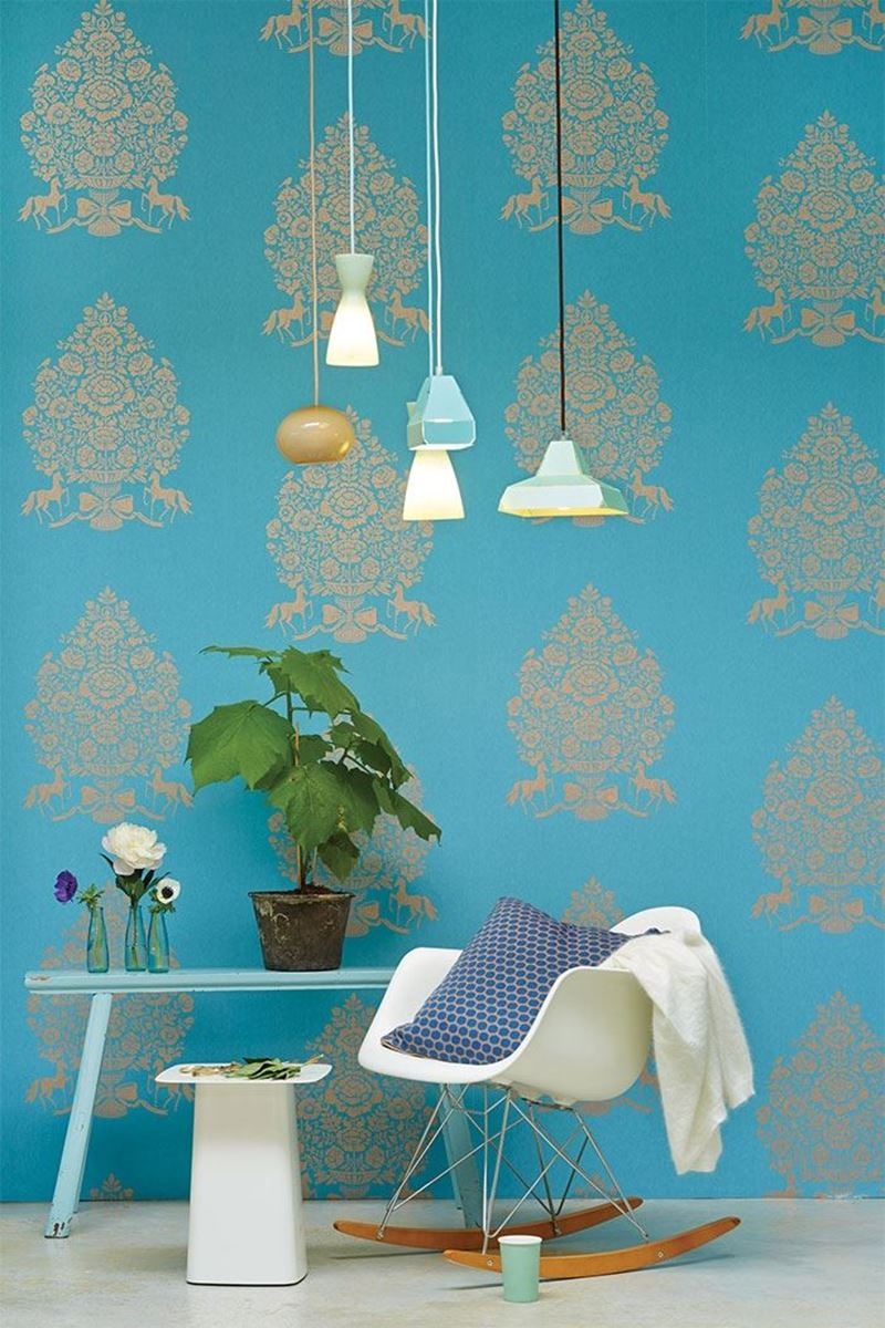 Color Relation Product Pip Studio Pip for President Wallpaper Light Blue