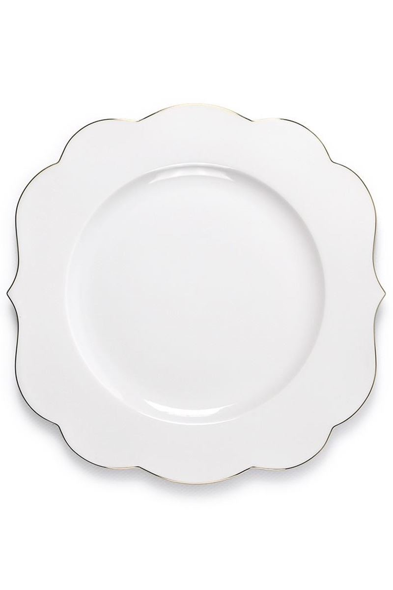 Color Relation Product Royal White Dinner Plate 28 cm