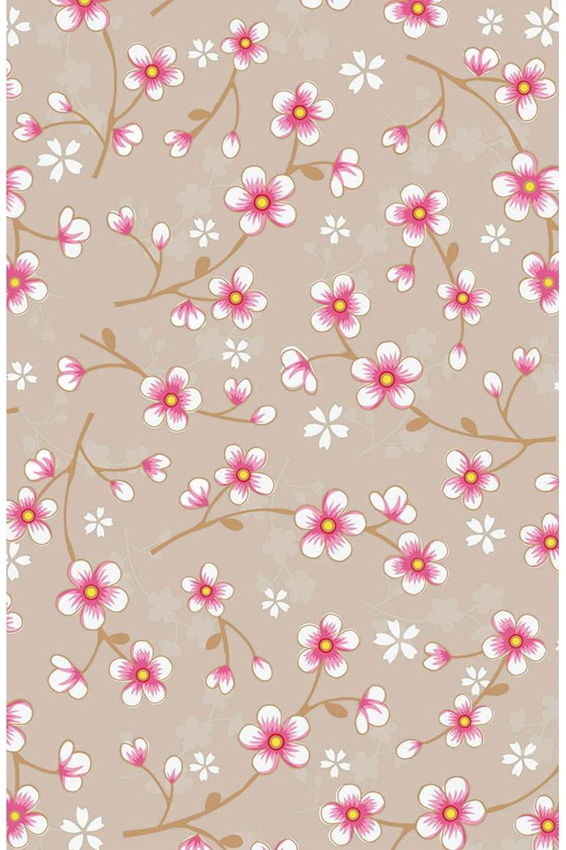 Color Relation Product Pip Studio Cherry Blossom Behang Khaki