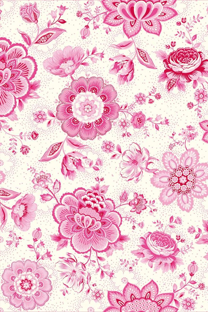Color Relation Product Pip Studio Folklore Chintz Wallpaper Pink