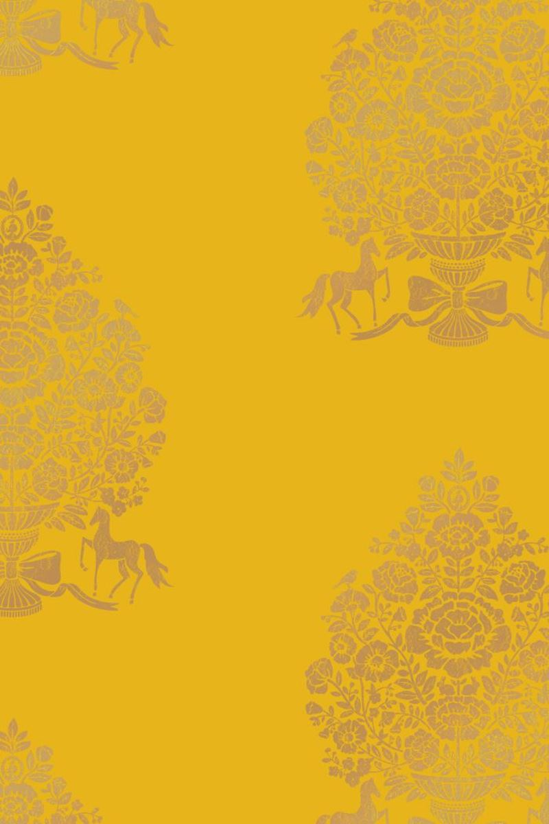 Color Relation Product Pip Studio Pip for President Wallpaper Yellow