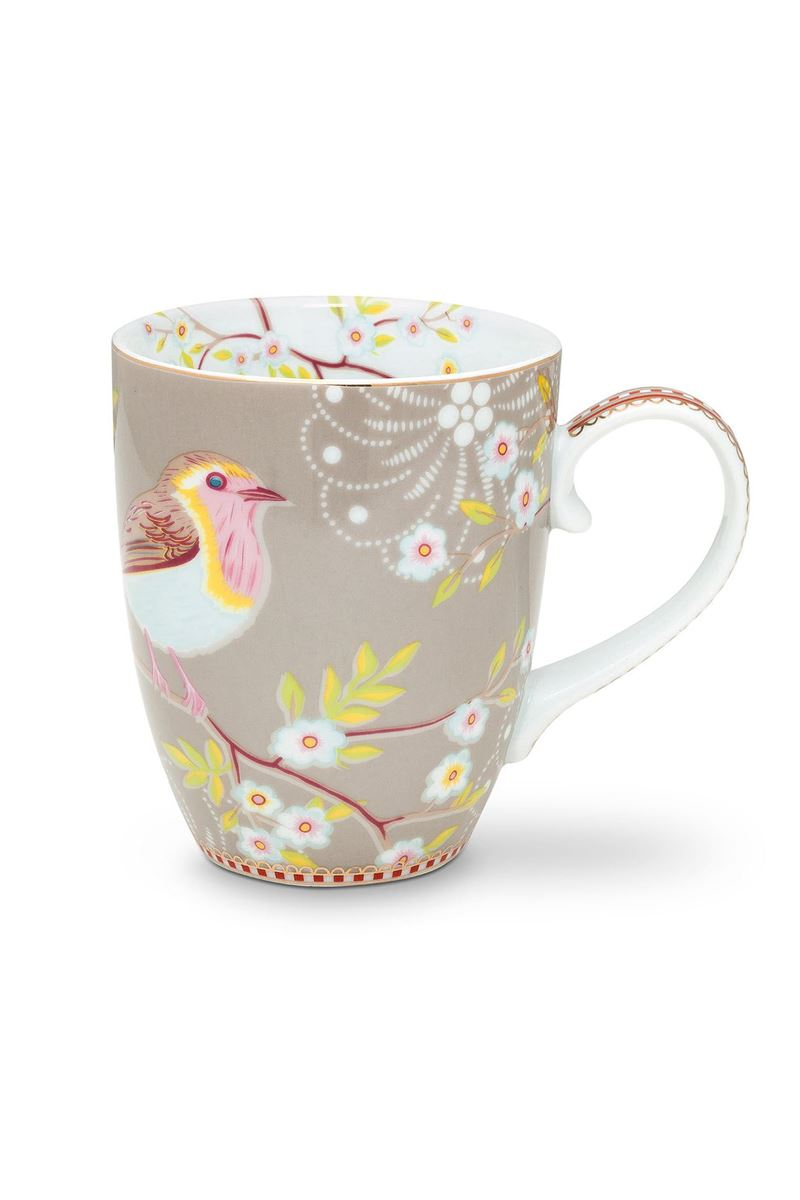Color Relation Product Early Bird Mug Large Khaki