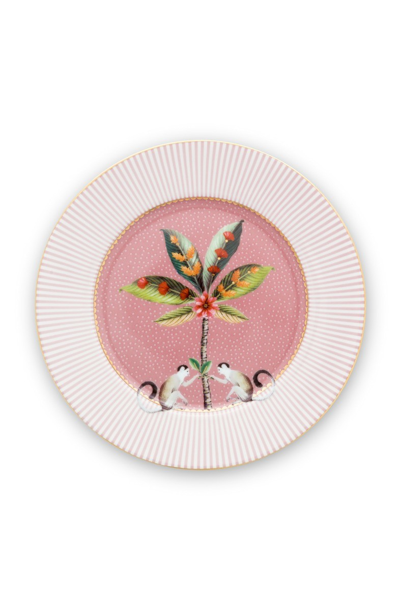 Color Relation Product La Majorelle Pastry Plate Pink 17 cm
