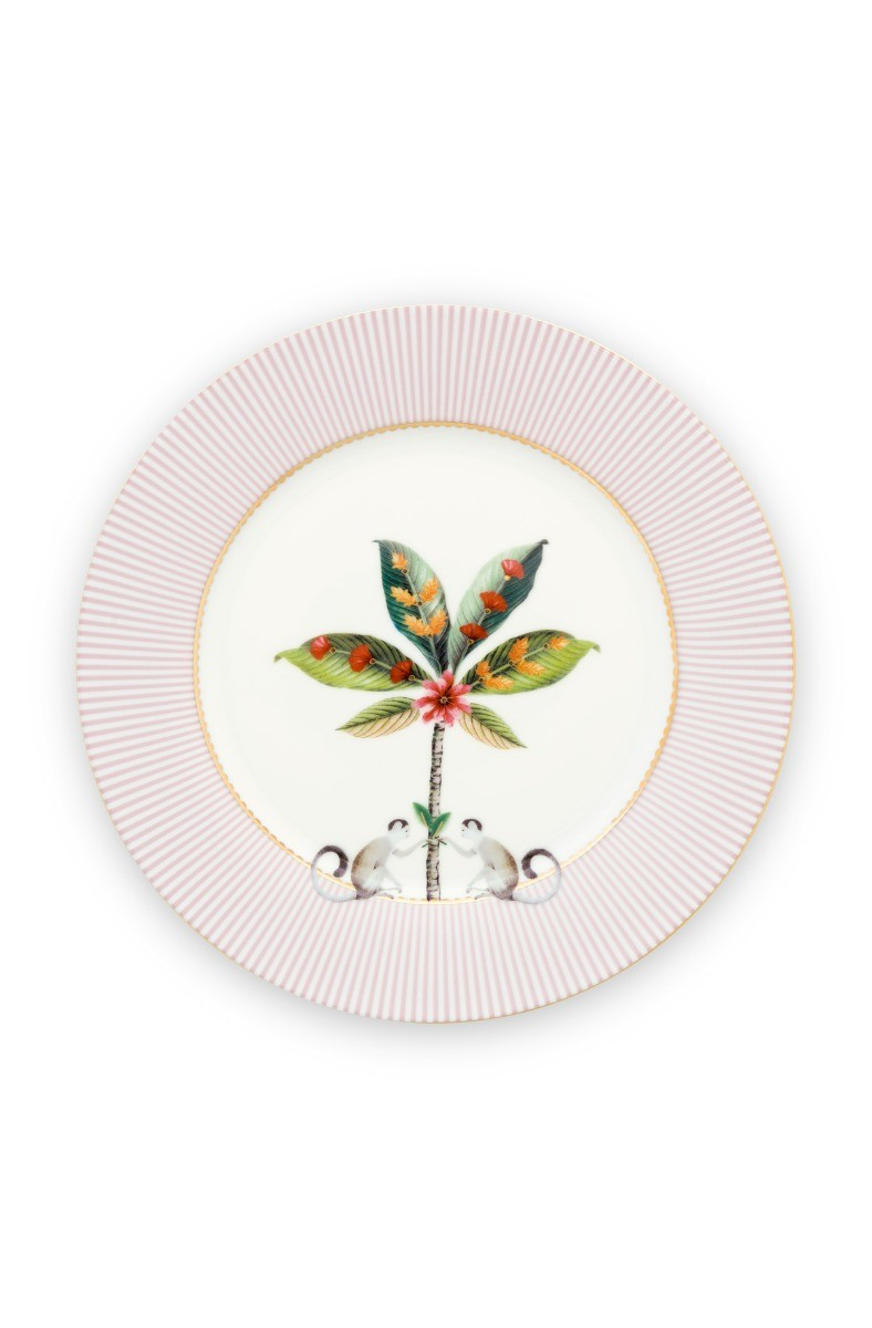Color Relation Product La Majorelle Breakfast Plate Pink 21 cm