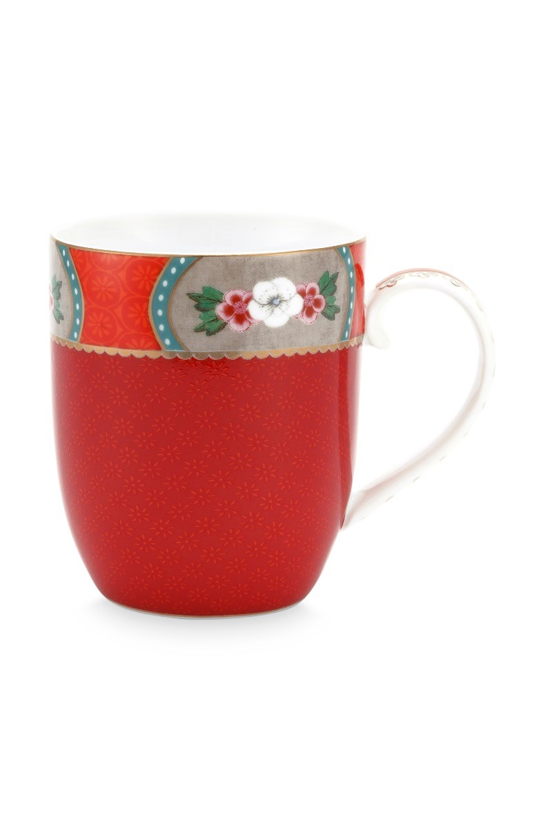 Color Relation Product Blushing Birds Mug Small Red