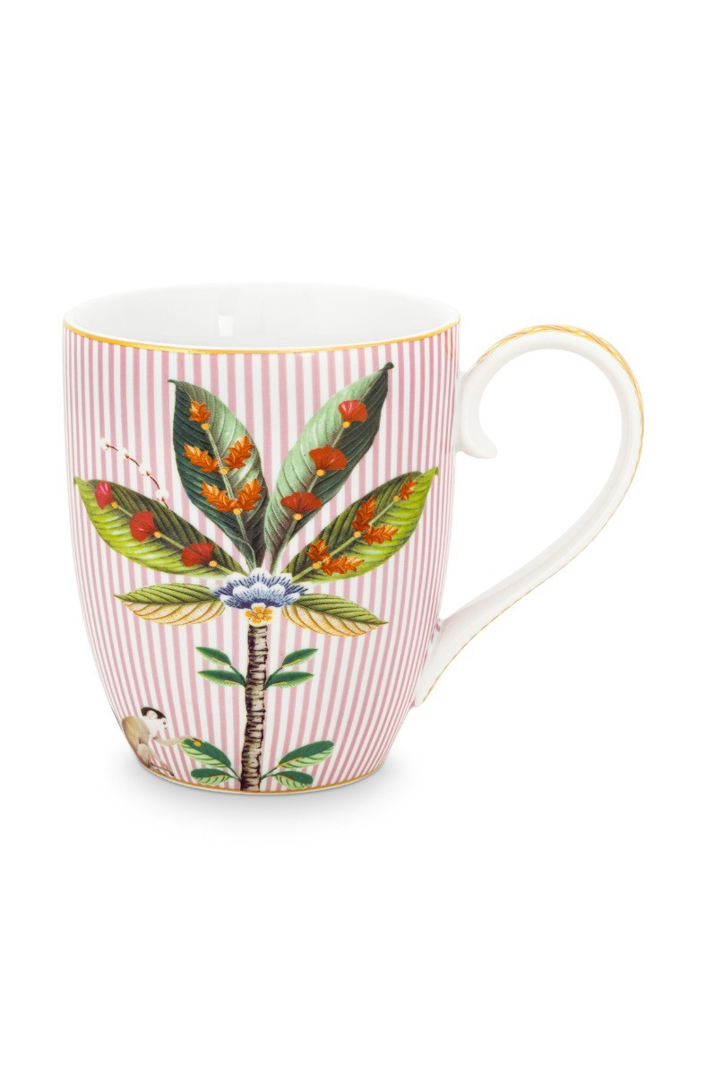 Color Relation Product La Majorelle Tasse Gross Rosa