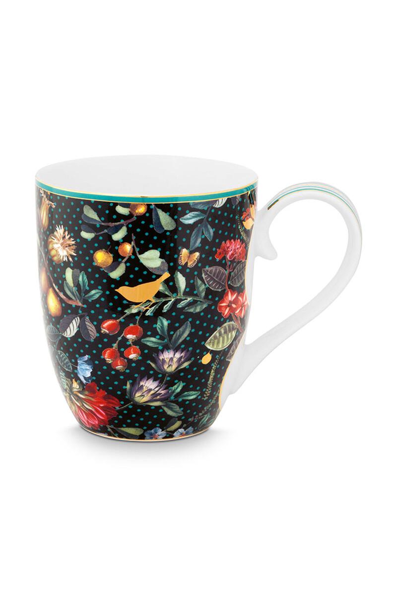 Color Relation Product Winter Wonderland Mug XL Dark Blue