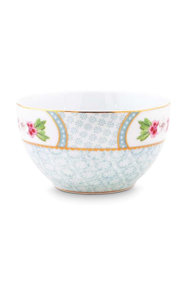 Color Relation Product Blushing Birds Star Flower Bowl white 9.5 cm