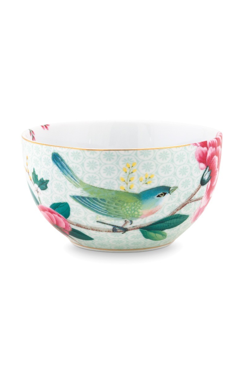 Color Relation Product Blushing Birds Bowl white 12 cm