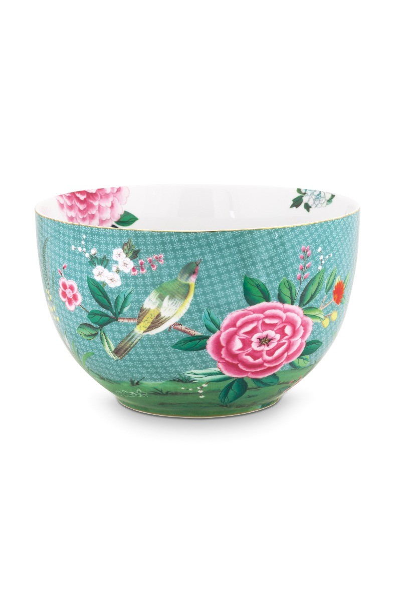 Color Relation Product Blushing Birds Bowl large blue 23 cm