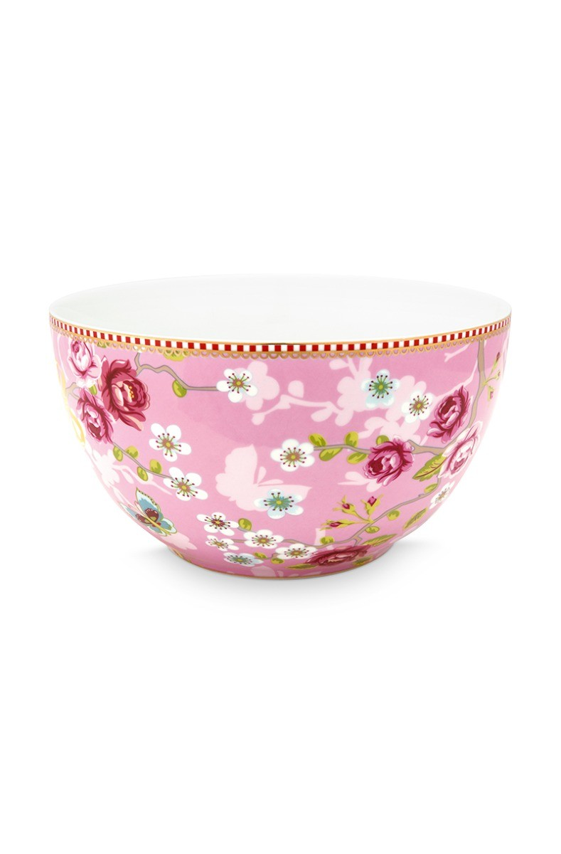 Color Relation Product Early Bird Bowl Chinese Rose Pink 18 cm
