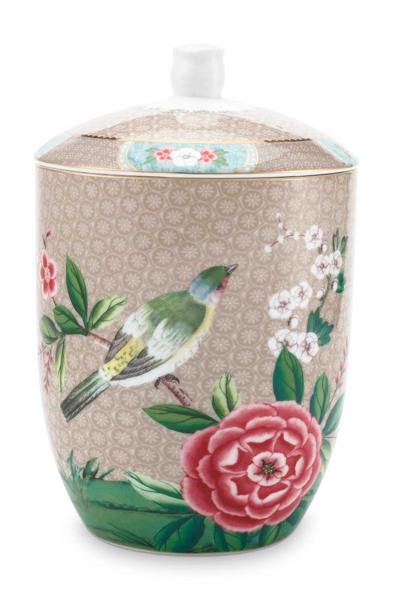 Color Relation Product Blushing Birds Voorraadpot Khaki