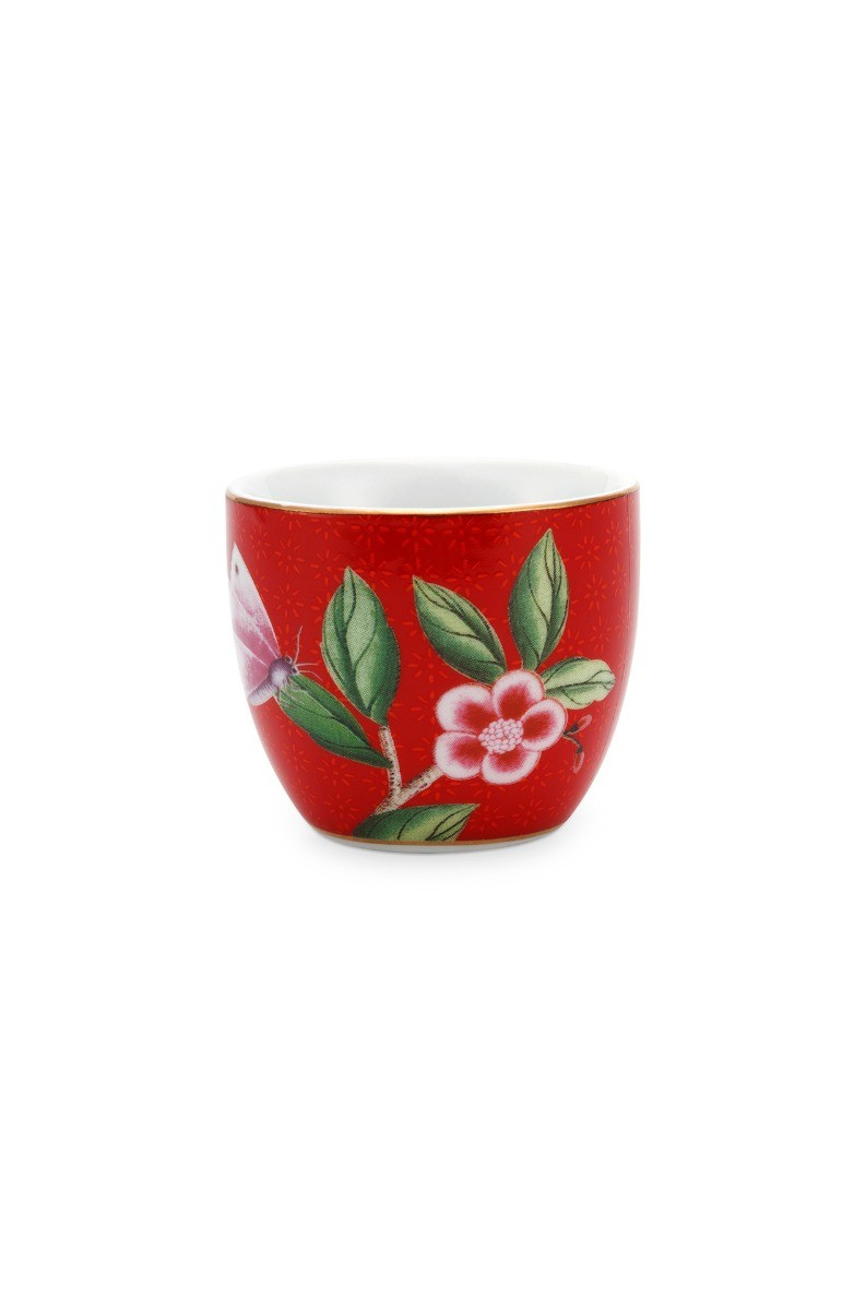 Color Relation Product Blushing Birds Egg Cup Red
