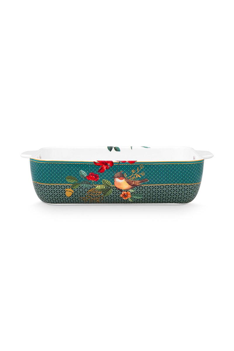 Color Relation Product Winter Wonderland Baking Dish Green