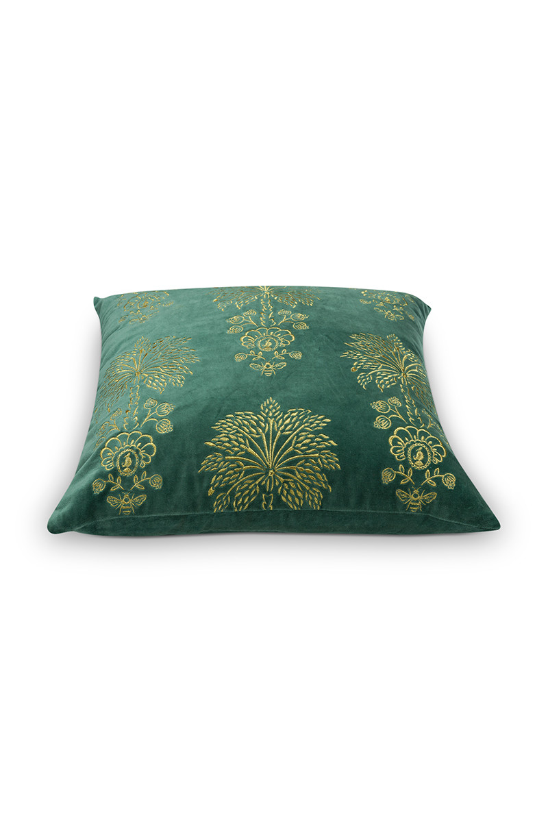 Color Relation Product Cushion Palmtree Green