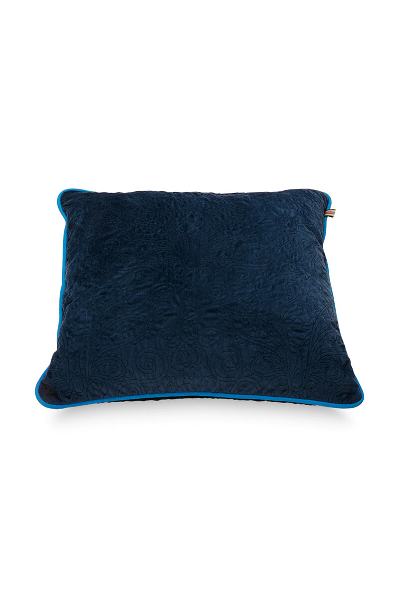 Color Relation Product Sierkussen Quilted Donkerblauw