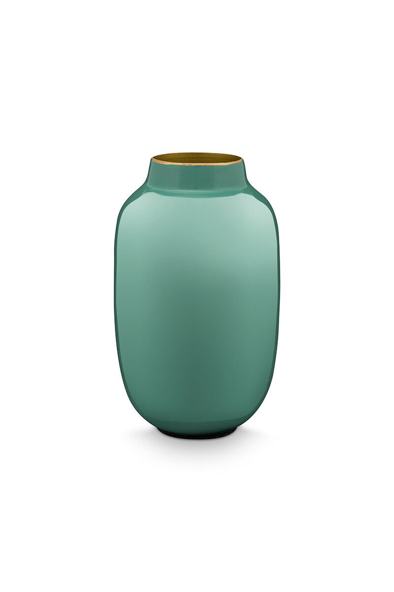 Color Relation Product Ovale Mini Vaas Blauw 14 cm