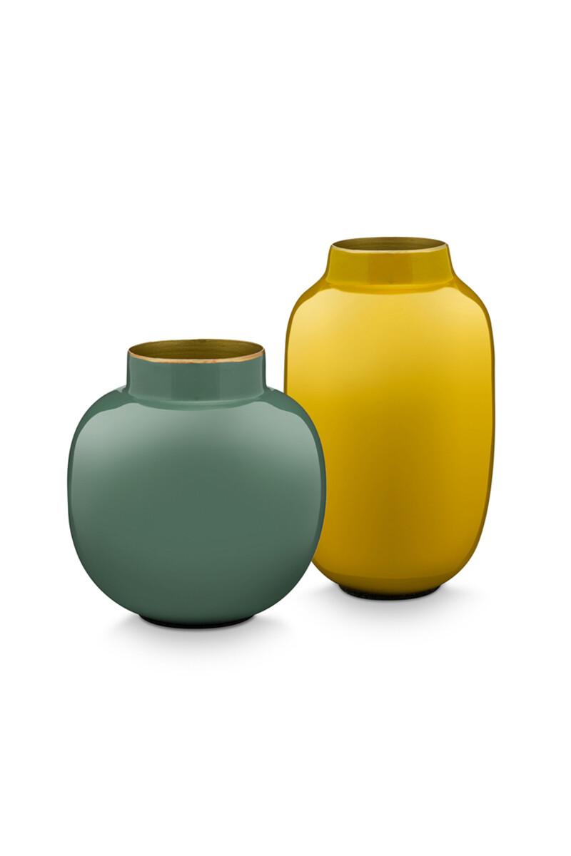 Color Relation Product Set Mini Vazen Groen & Geel