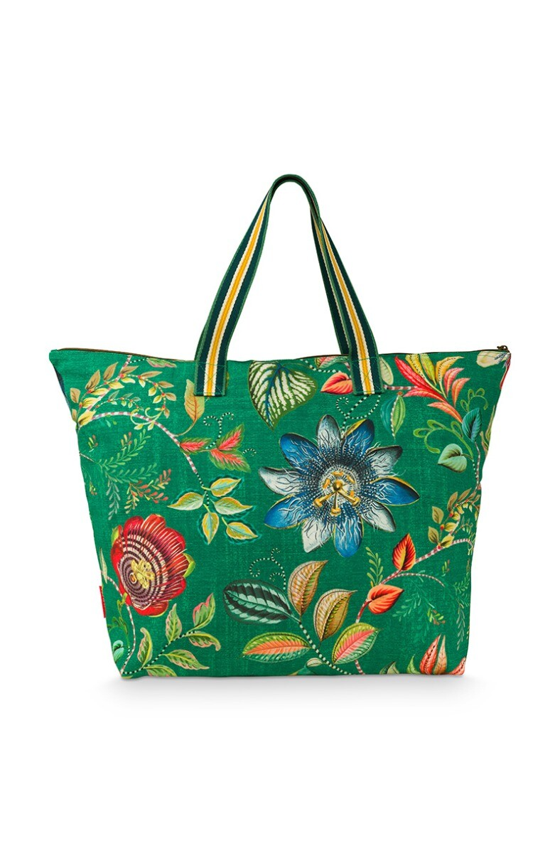 Color Relation Product Beach Bag Exotic Garden