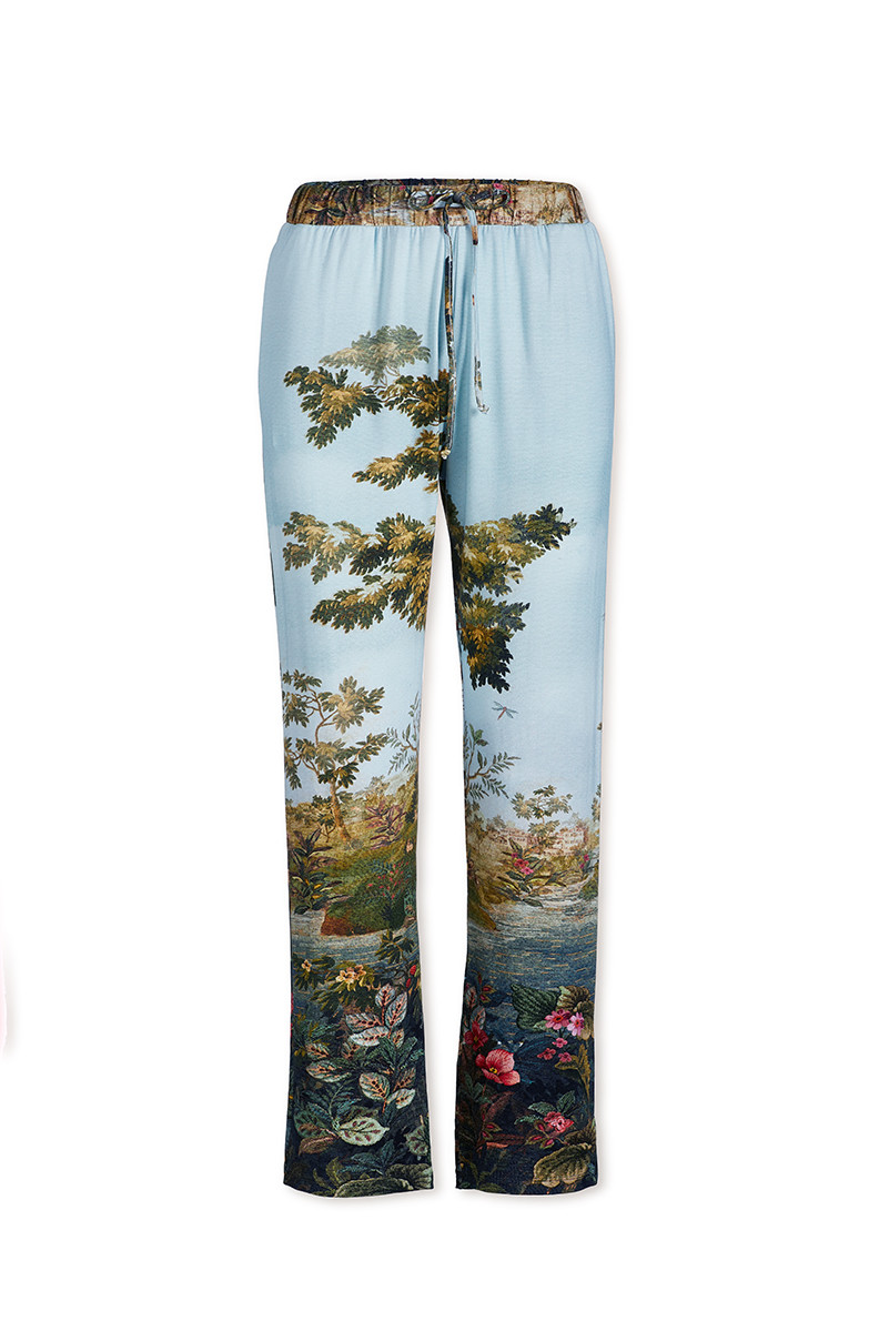Color Relation Product Trousers Long Winter Blooms Multi
