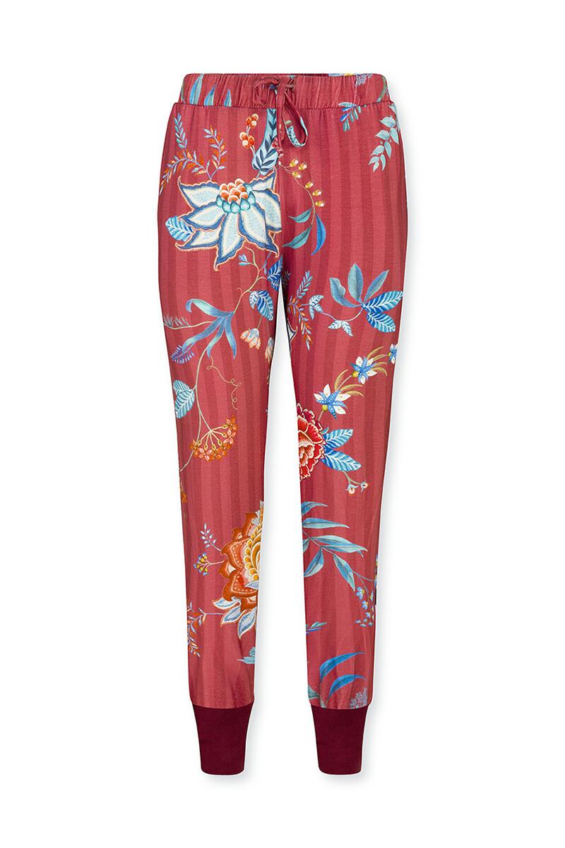 Color Relation Product Lange Broek Flower Festival Rood