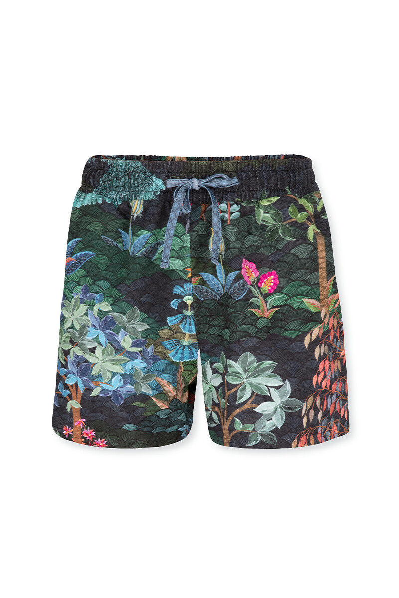 Color Relation Product Trousers Short Pip Garden Big Blue