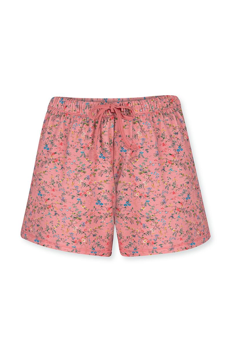 Color Relation Product Trousers Short Petites Fleurs Pink