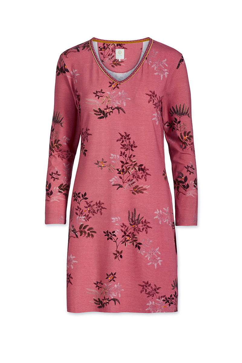 Color Relation Product Nightdress Woodsy Tales Pink