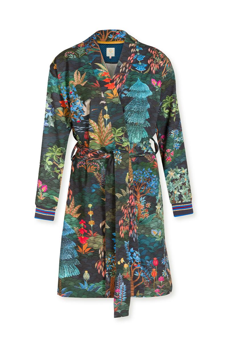 Color Relation Product Kimono Pip Garden Big Blue