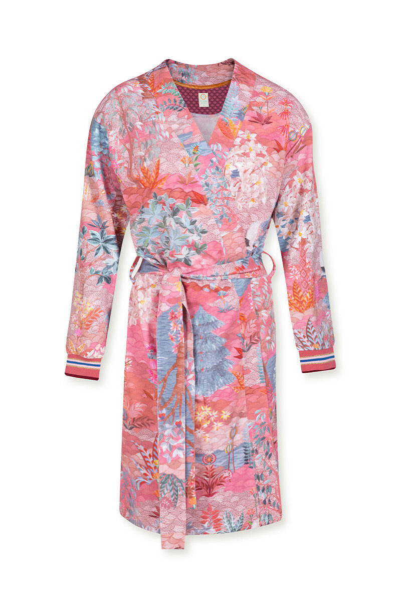 Color Relation Product Kimono Pip Garden Big Pink