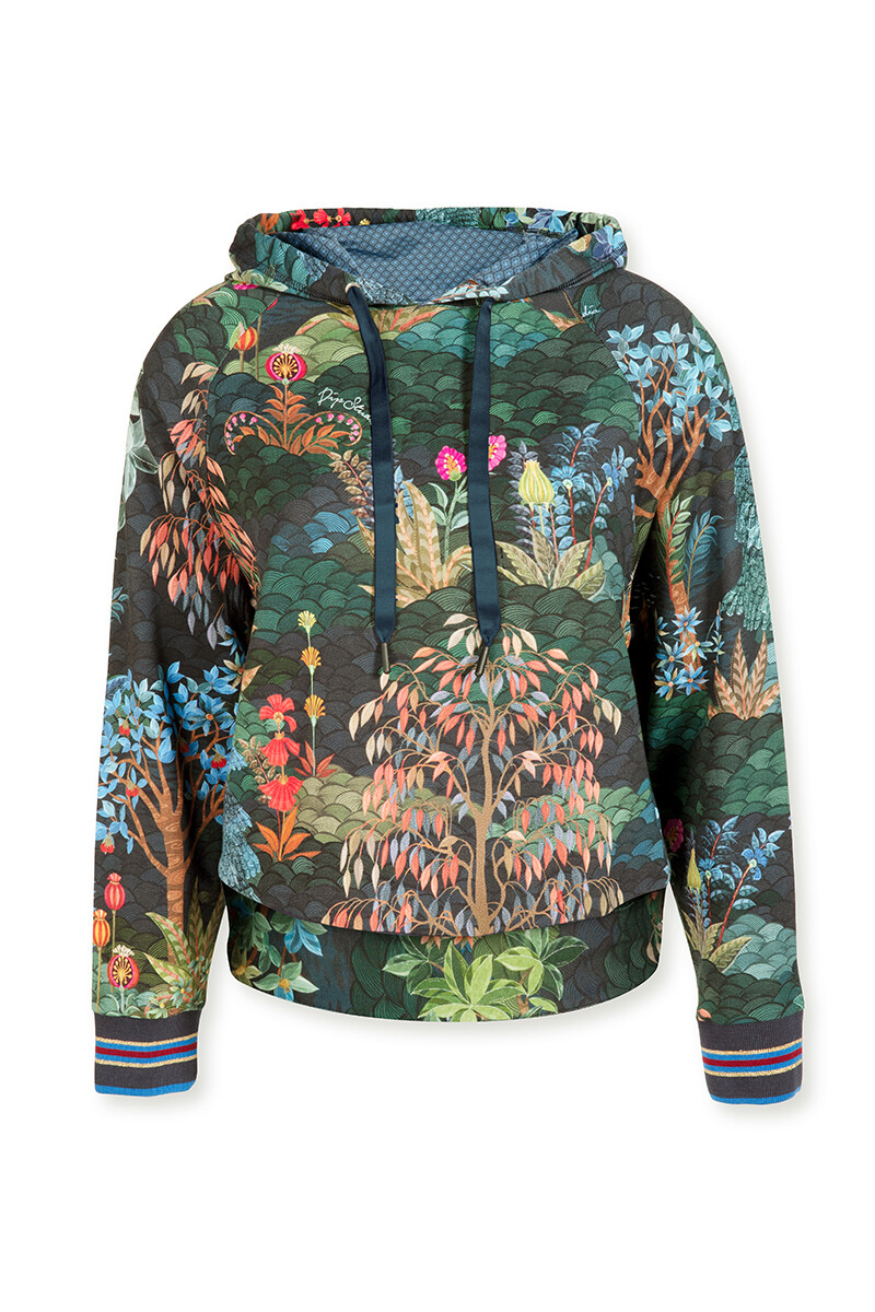 Color Relation Product Pullover Pip Garden Big Blau
