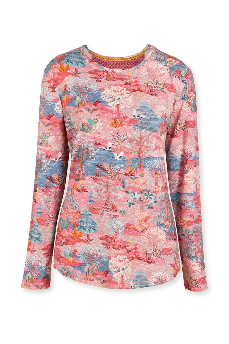 Color Relation Product Top Lange Mouw Pip Garden Roze