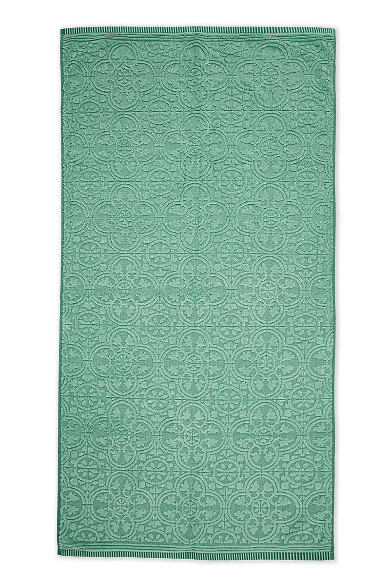 Color Relation Product XL Duschlaken Tile de Pip Grün 70x140 cm