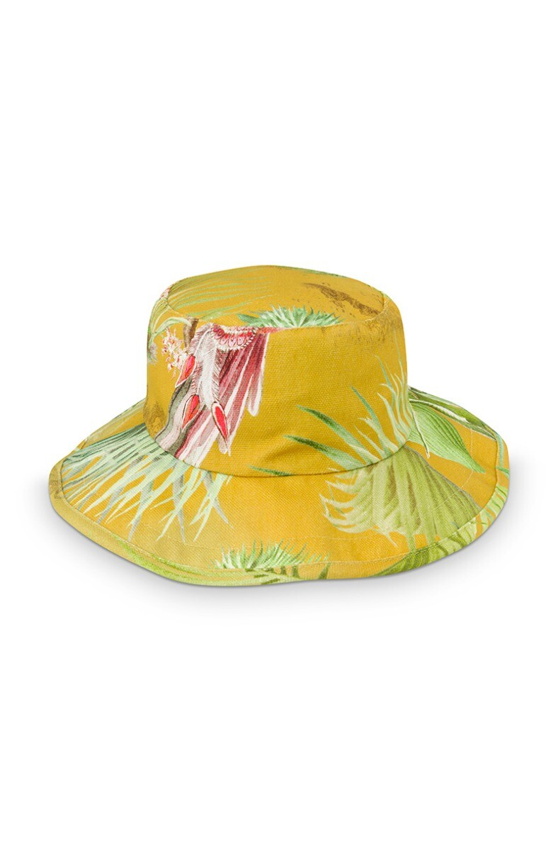 Color Relation Product Sun Hat Palm Scenes Yellow