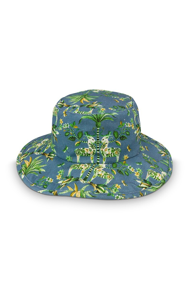 Color Relation Product Sun Hat Tropic Twins Blue