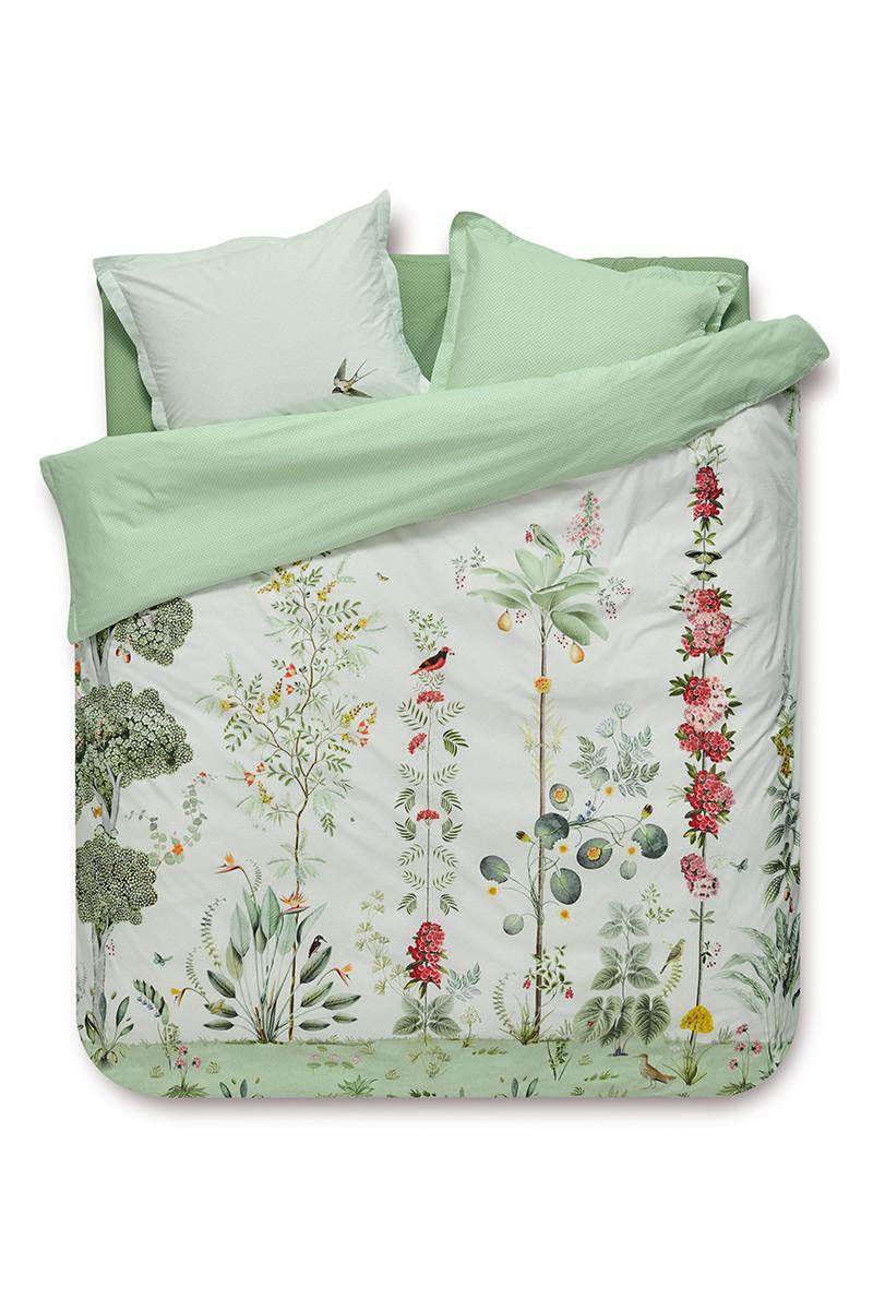 Color Relation Product Duvet cover Babylons Garden White