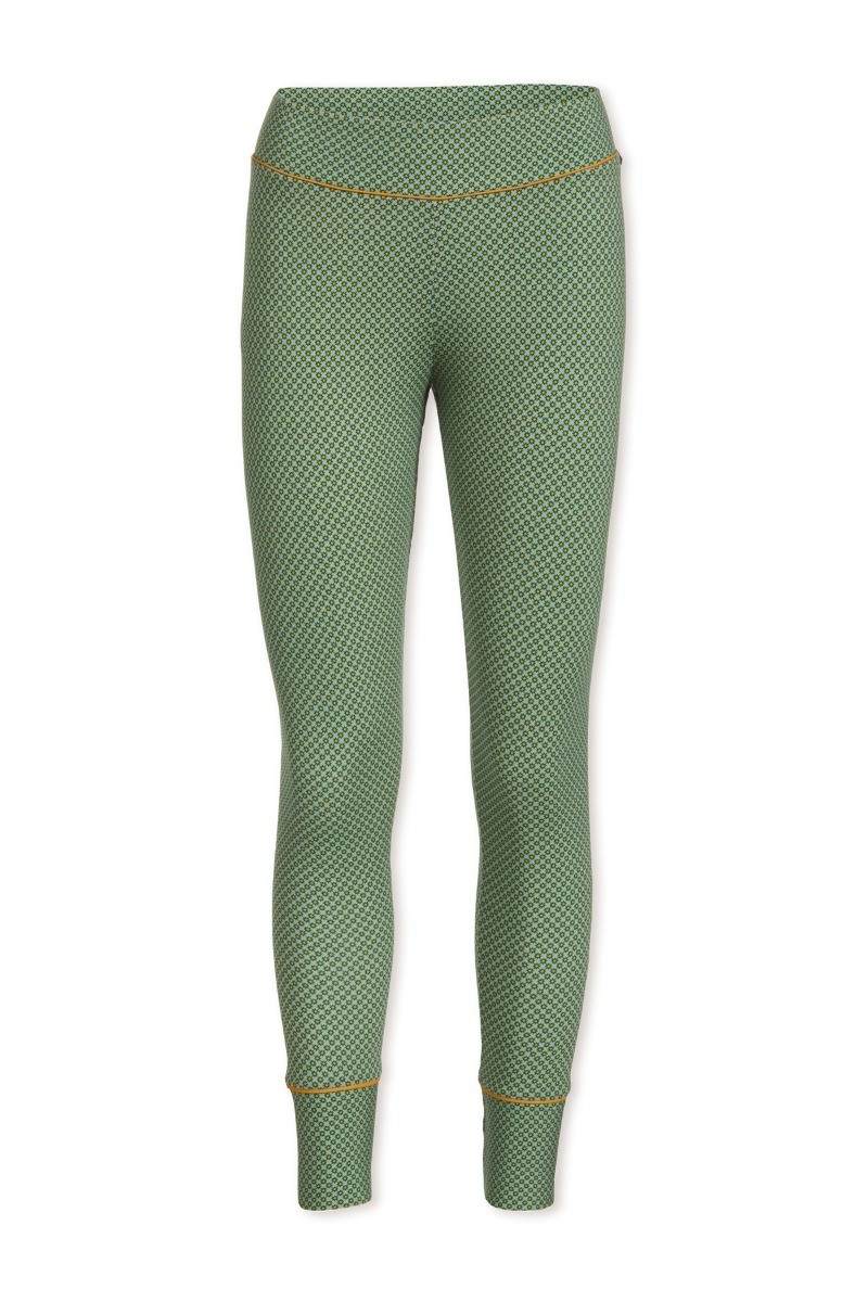 Color Relation Product Long Trousers Twinkle star Green