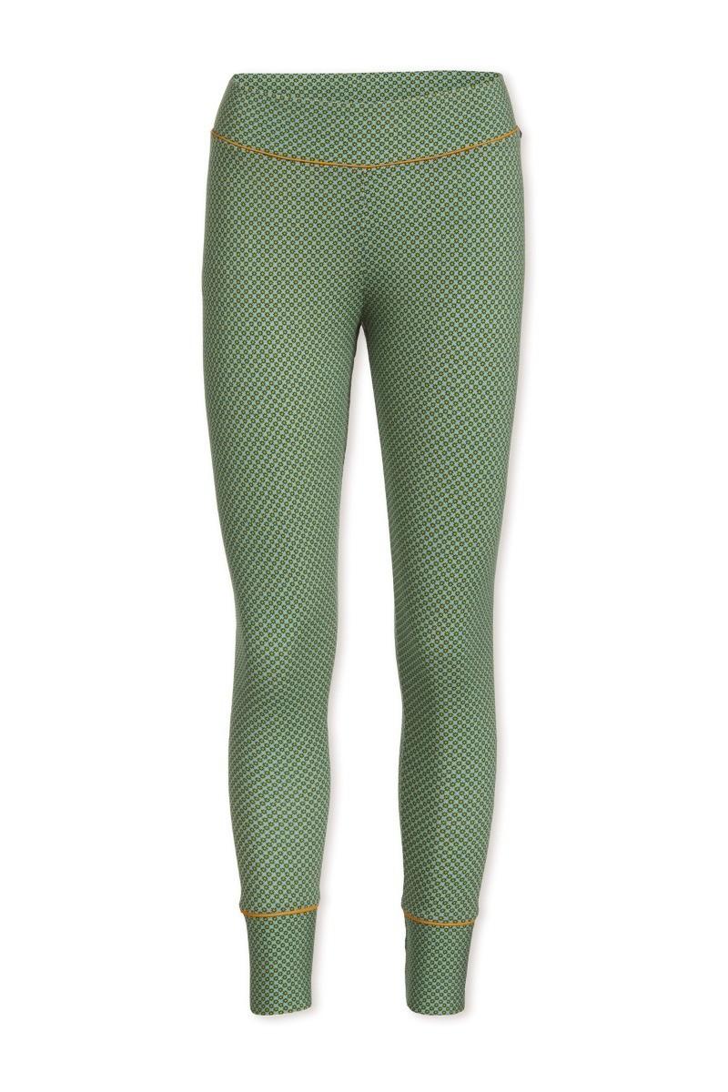 Color Relation Product Lange Broek Stripers Groen