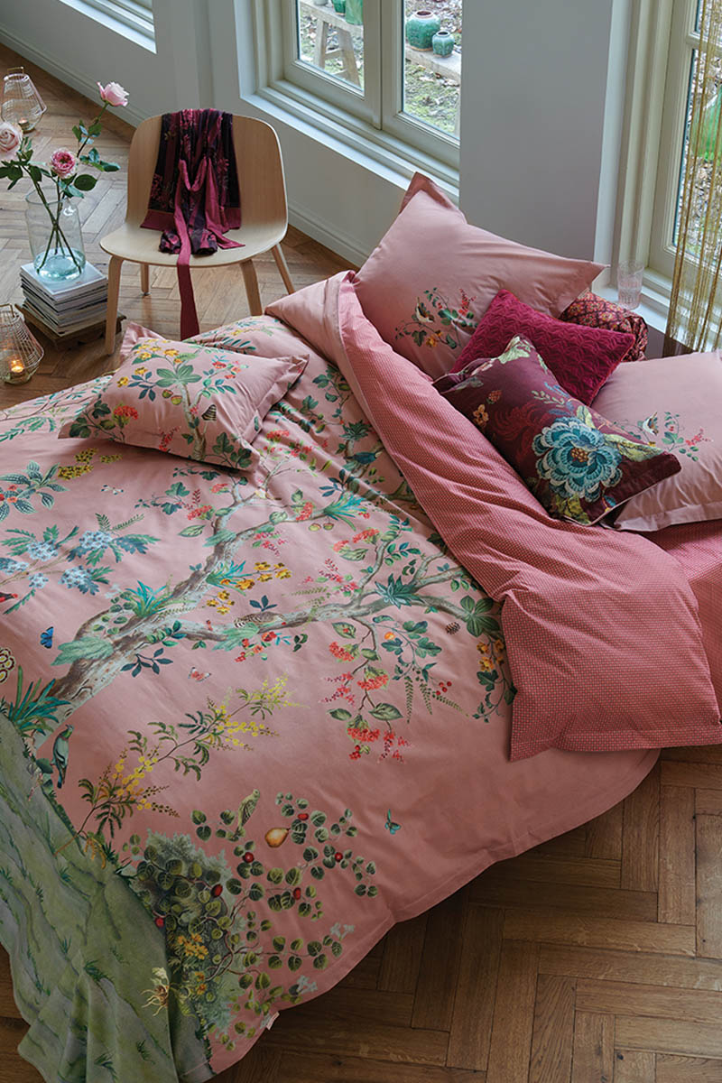 Color Relation Product Duvet Cover Wild and Tree Pink
