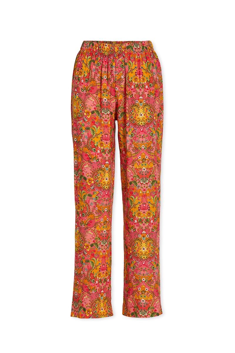 Color Relation Product Lange Broek Wijd Pippadour Roze