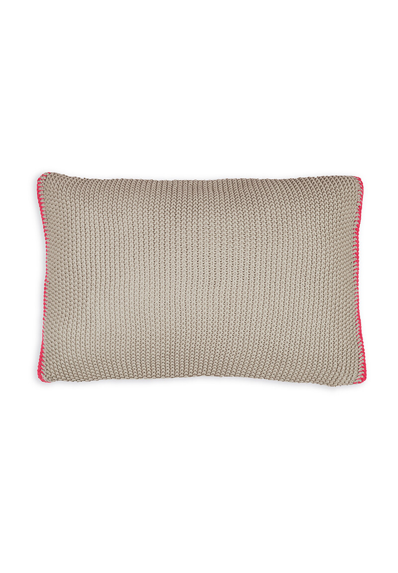 Color Relation Product Rectangle Cushion Bonsoir Khaki