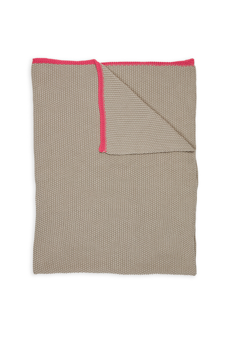 Color Relation Product Throw Bonsoir Khaki