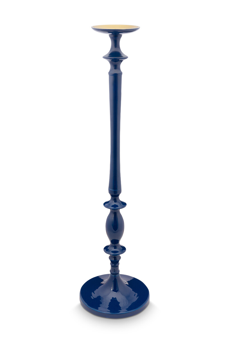 Color Relation Product Candle Holder Blue 95 cm